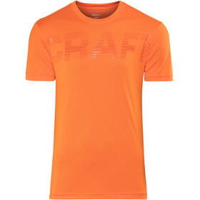 Craft Prime Logo Løbe T-shirt Herrer orange